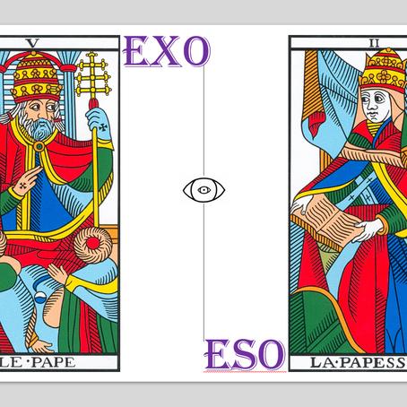 Exotérisme vs. ésotérisme