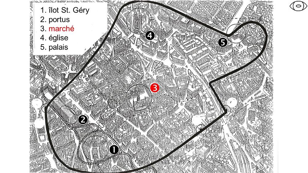enceinte de Bruxelles au XIIIe, visite guidée Bruxelles, Vincent Beckers