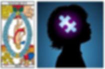 vincent-beckers, carte tarot monde, renverse, autisme
