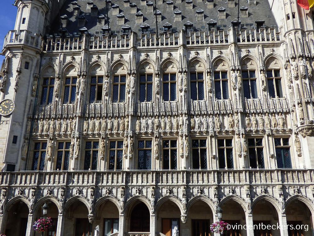 façade hôtel de ville de Bruxelles, visite guidée Grand-Place Bruxelles, Vincent Beckers