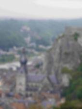 Dinant, visite Dinant,visite guidée Dinant, Wallonie tourisme, visite Wallonie, point de vue sur Dinant, visite guidée