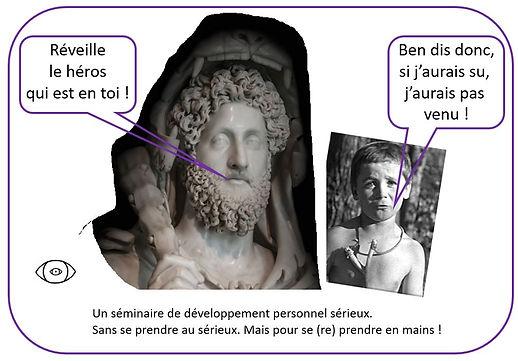 vincent beckers, 12 travaux d'hercule, lion