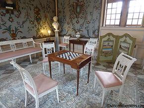 Freyr, visite Freyr, visite Wallonie, Wallonie tourisme, Vincent Beckers, visite guidée Freyr, salon château Freyr