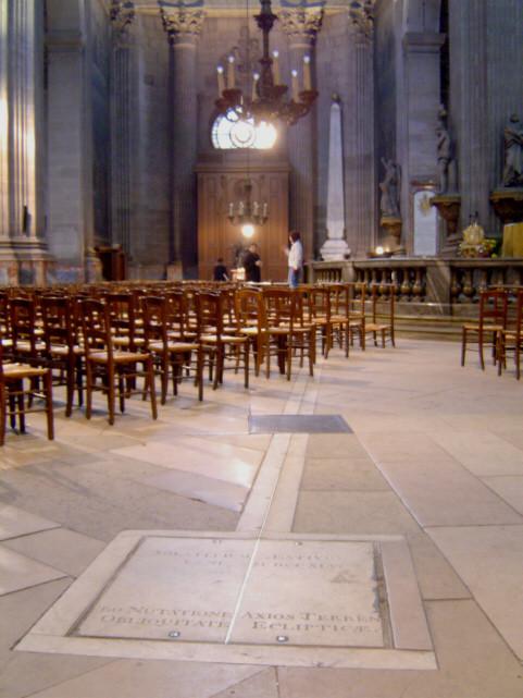 méridienne église Saint-Sulpice, Paris, visite guidée de Paris, Vincent Beckers