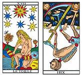 vincent-beckers, arcane sans nom renverse, carte tarot
