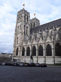 Saints-Michel et Gudule, deux noms qui chatouillent les bruxellois !