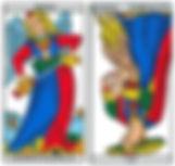 vincent-beckers, force, tempérance, carte tarot