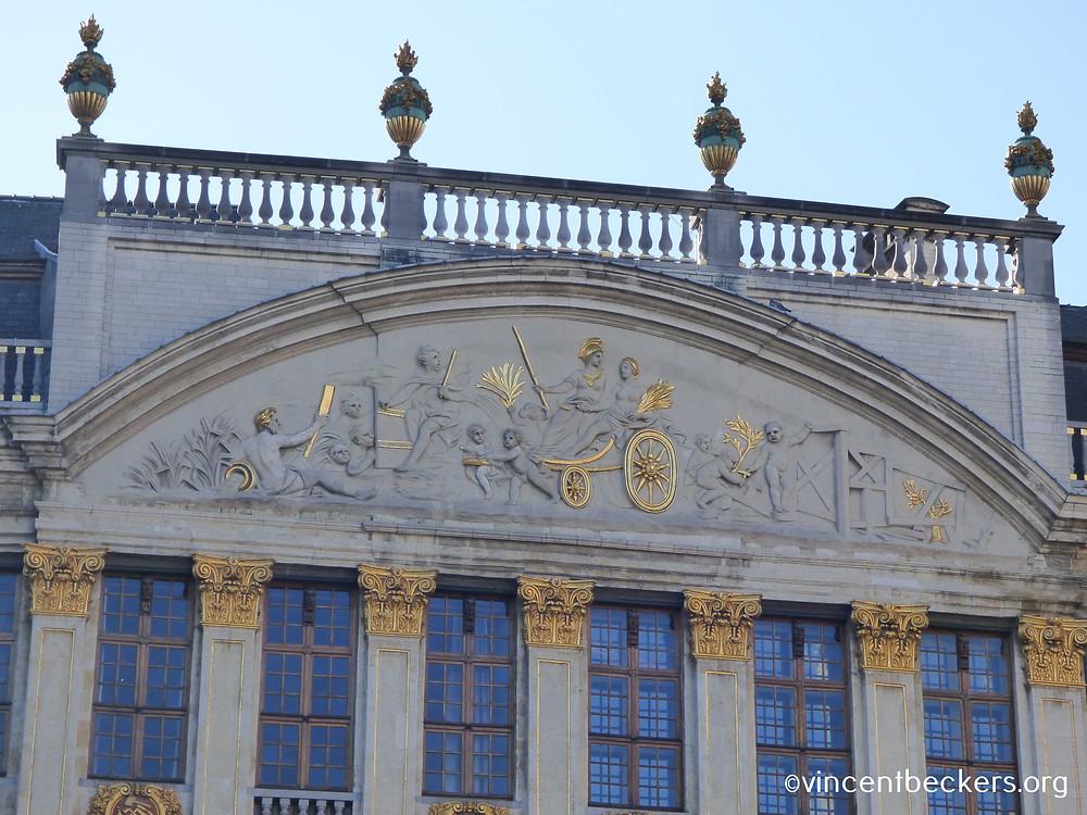 façade Ducs de Brabant, Grand-Place, Bruxelles, visite guidée Grand-Place Bruxelles