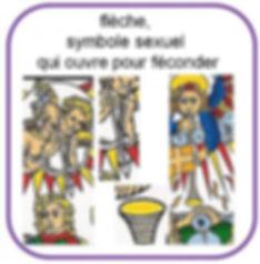 symbolique flèche tarot marseille vincent beckers
