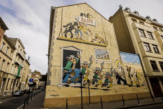 Bruxelles bande dessinée, visite Bruxelles, Bruxelles tourisme, visite guidée Bruxelles, visite privée Bruxelles