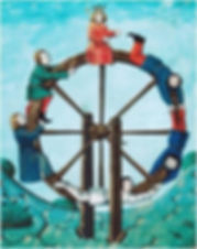 roue fortune carte tarot karma vincent beckers