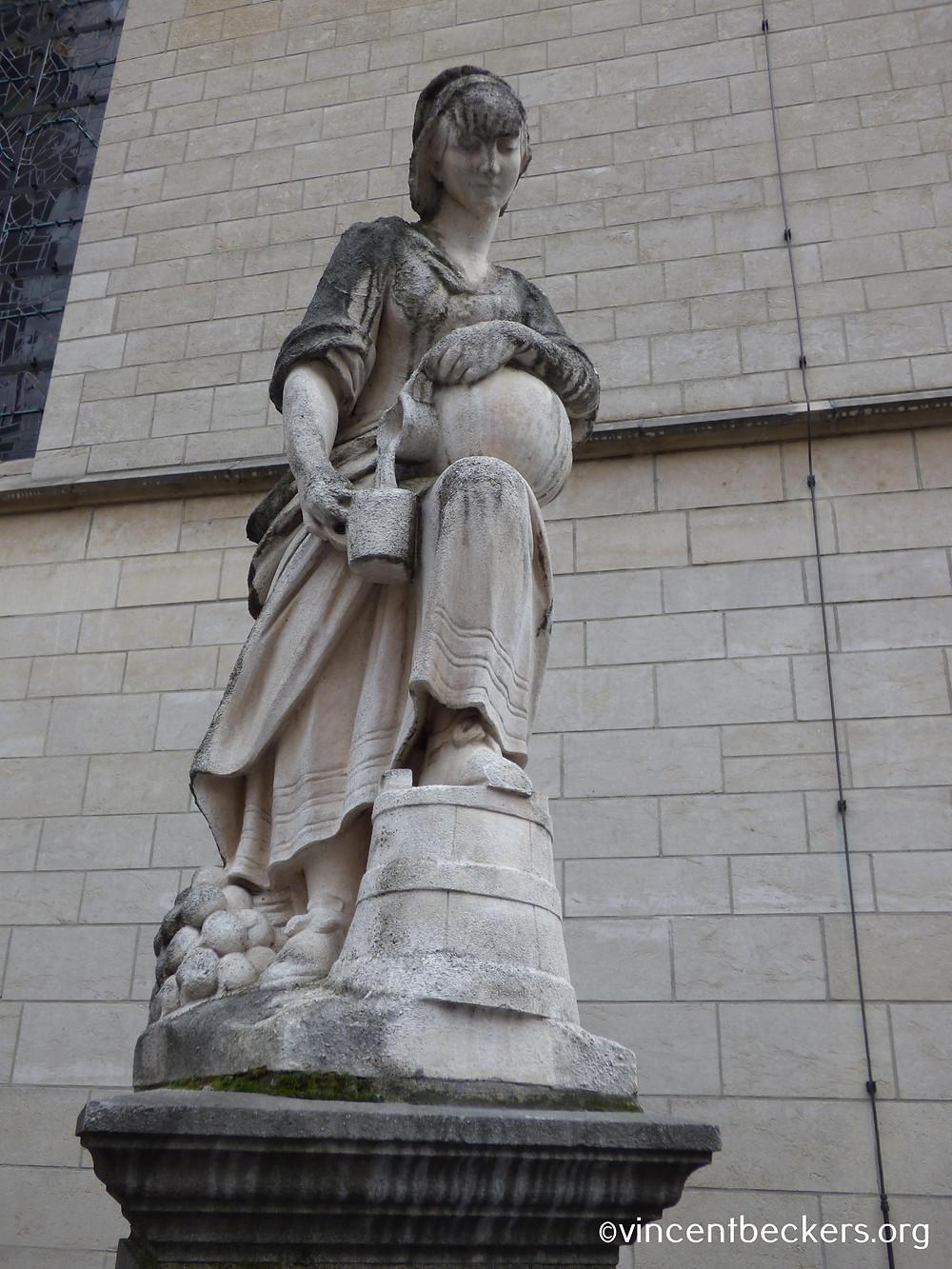 statue laitière, Bruxelles, visite Bruxelles, Vincent Beckers