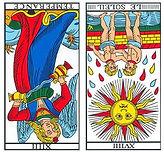 vincent-beckers, tempérance renverse, carte tarot