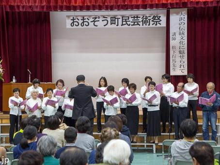 大沢町民芸術祭 2017 の様子