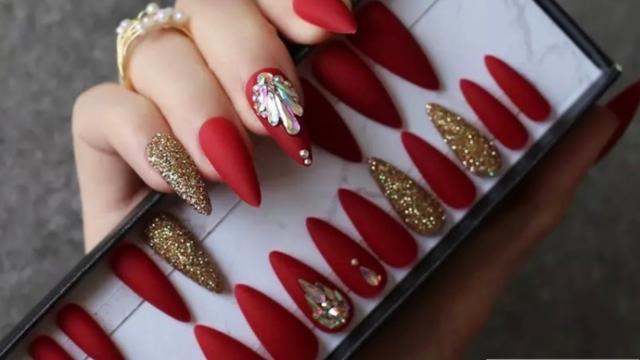 Nail Kit - Kitty Red