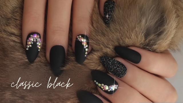 Nail Kit- Classic Black