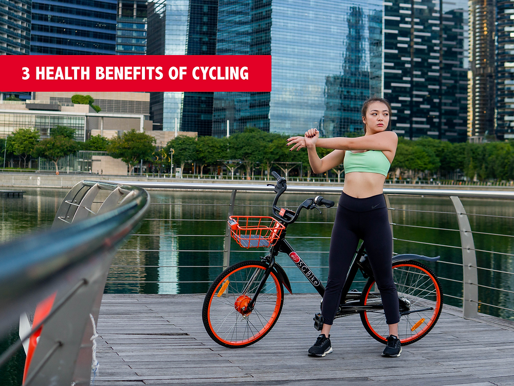 3 Health Benefits of Cycling