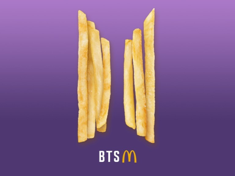 The BTS Meal teaser by Mcdonald's