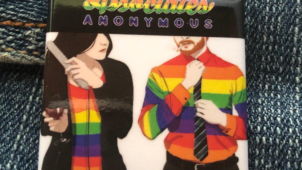 Pride cover art button