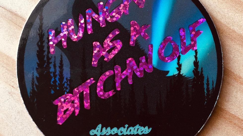Bitch Wolf Sticker