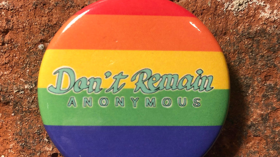 Gay Pride Button