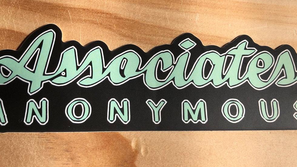 Die cut logo sticker