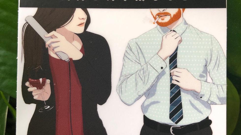 Cover Art Sticker