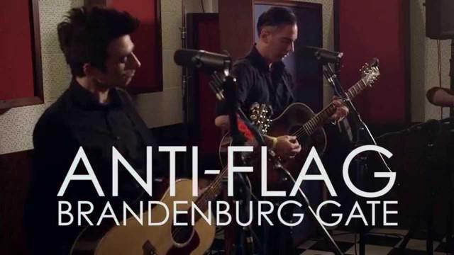 Anti-Flag Brandenburg Gate