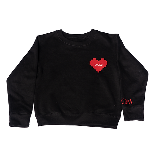 Loved. Crewneck Sweatshirt