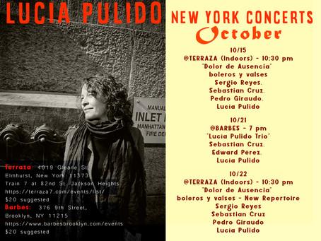 OCTOBER IN NEW YORK