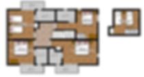 Button to enlarge floor plan (First Floor) of Chalet Alpage in St Martin de Belleville