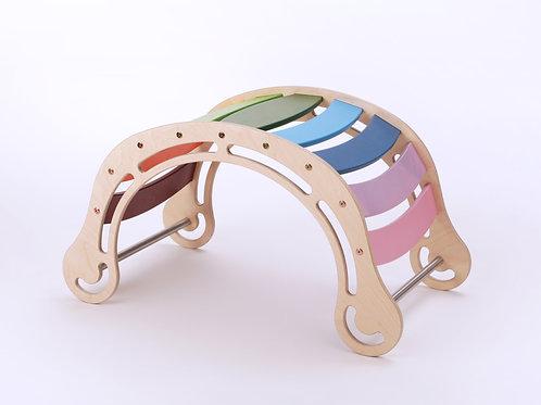 Waldorf Rocker Original- Rainbow color