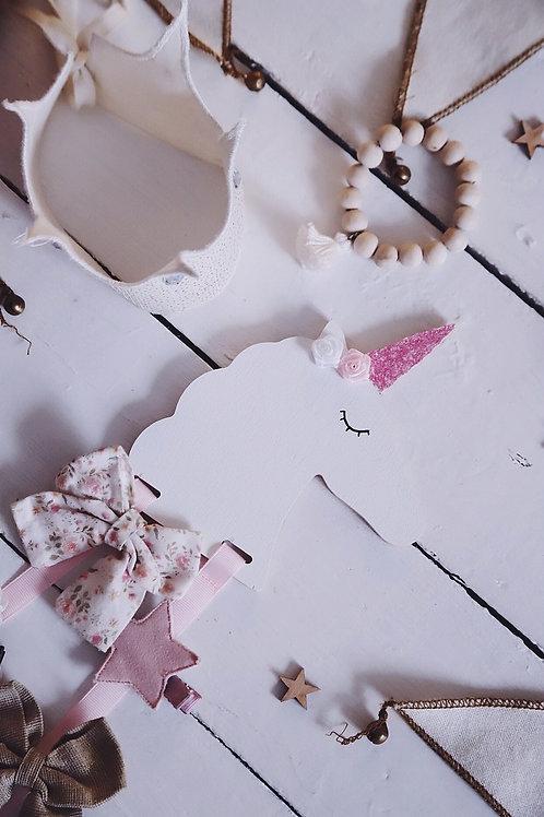 Unicorn Hair clips organizer