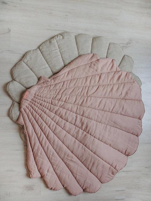 """Children's playmat shell """"powder pink"""""""