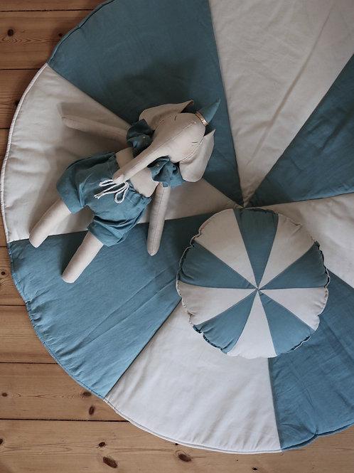 "Patchwork candy pillow ""blue"""