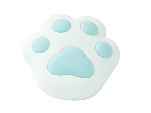 Paw Silicone Wall Lamp - Blue