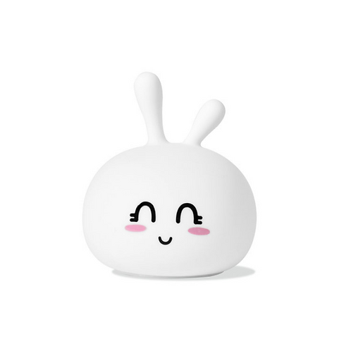 Cute Rabbit Silicone Lamp - White