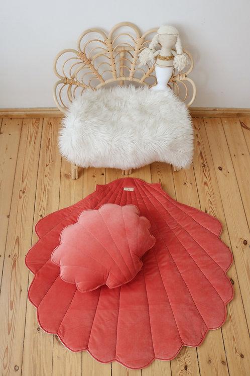 """Velvet shell playmat """"Coral"""""""