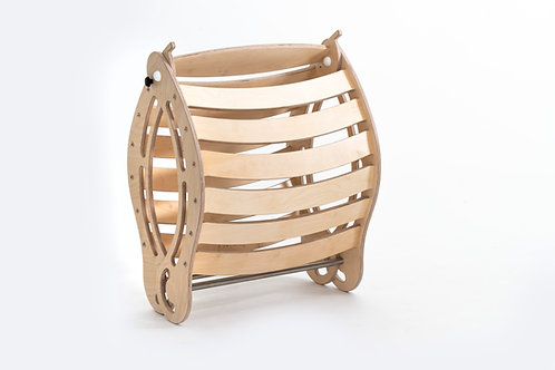 Foldable XXL  Rocker in Natural Color