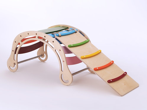 Rainbow Color Rocker - with ramp/slide