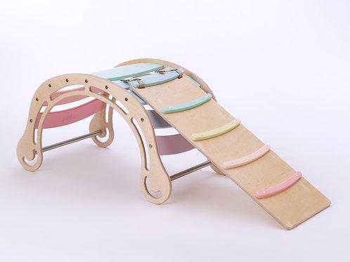 Pastel Color Rocker - with ramp/slide