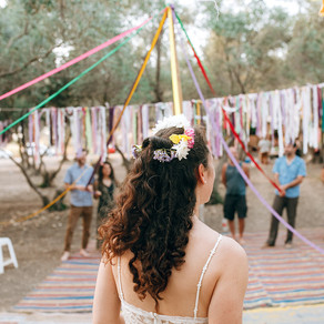 Beltane Entwinement ~ Weaving Together ~ Tying the Knot טקס שזירה