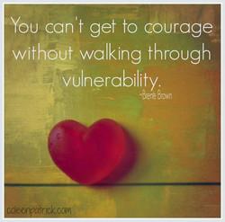 courage brene brown vulnerability