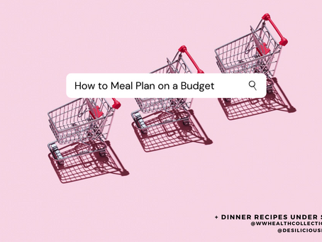 How to Meal Plan on a Budget + Dinner Recipes Under $3
