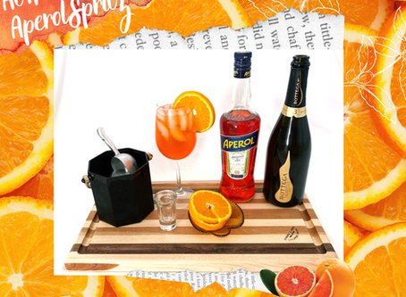 At Home With Aperol Spritz