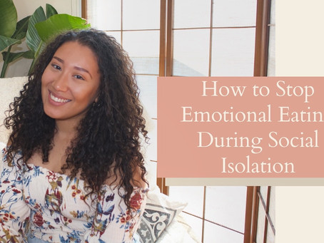 How to Stop Emotional Eating During Social Isolation