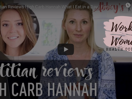 """Dietitian Reviews Youtube Influencer's """"What I Eat In A Day"""" 