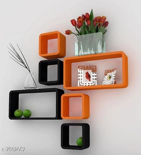 Trendy Wooden Wall Shelves