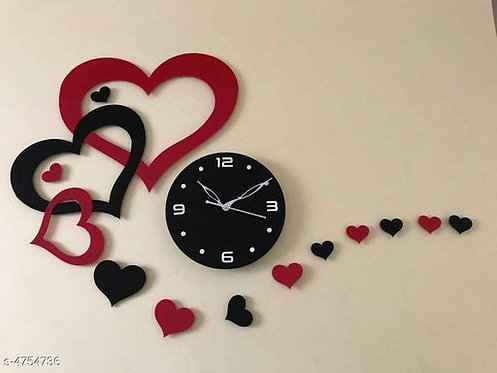 Trendy Acrylic Clock