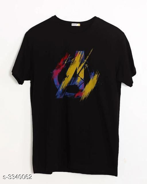Trendy Cotton Men's T-Shirt